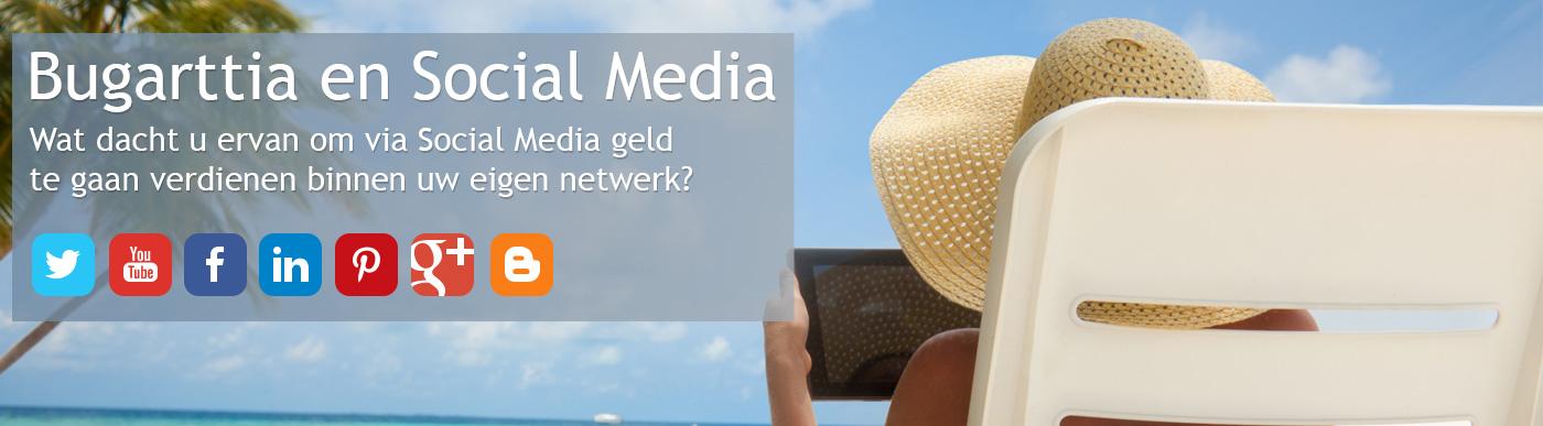 Bugarttia en Social Media - Wat dacht u ervan om via Social Media geld te gaan verdienen binnen uw eigen netwerk?